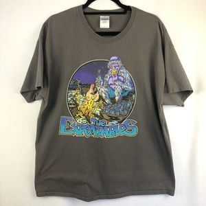 Expendables Band Tour Graphic Tee Shirt